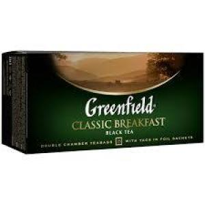 Чай черный Greenfield Classic Breakfast 50г (25 пак.)