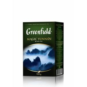 Чай зеленый Greenfield Magic Yunnan 100г