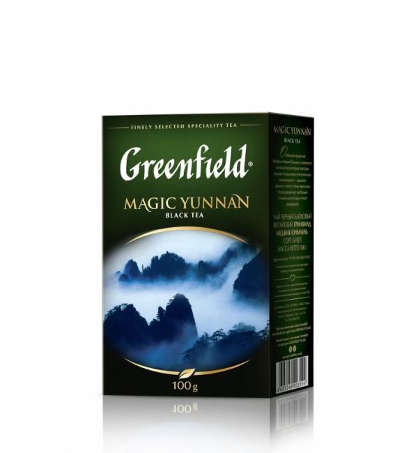 Чай зеленый Greenfield Magic Yunnan 100г
