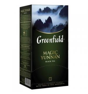 Чай черный Greenfield Magic Yunnan 50г (25 пак.)