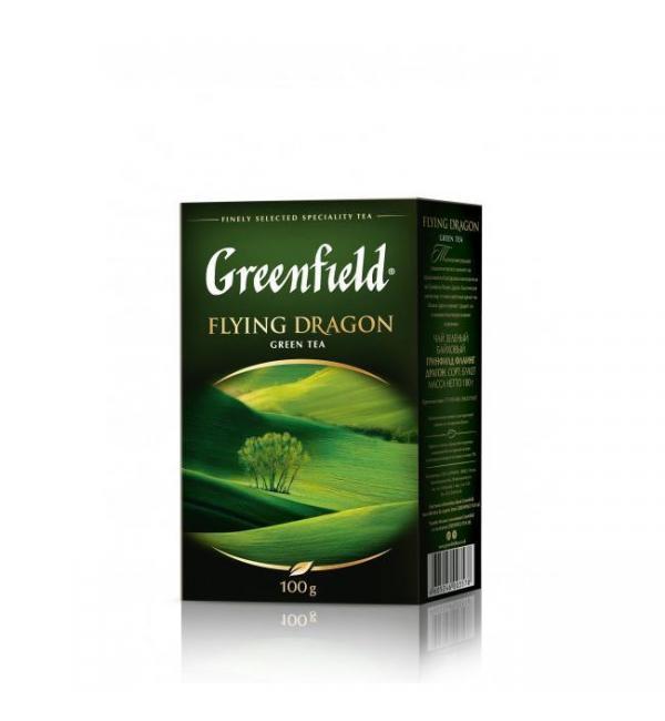 Чай зеленый Greenfield Flying Dragon 100г