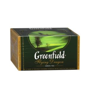 Чай зеленый Greenfield Flying Dragon 50г (25 пак.)