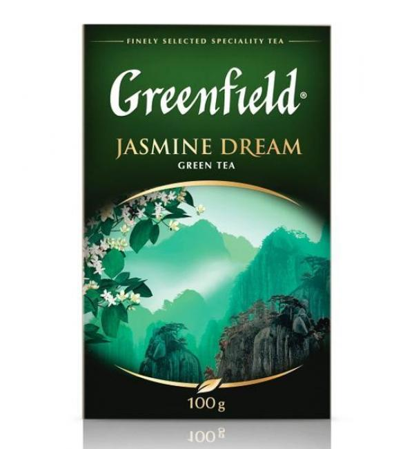 Чай зеленый Greenfield Jasmine Dream 100г