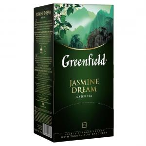 Чай зеленый Greenfield Jasmine Dream 50г (25 пак.)