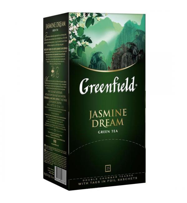 Чай зеленый Greenfield Jasmine Dream 50г (25 пак.)