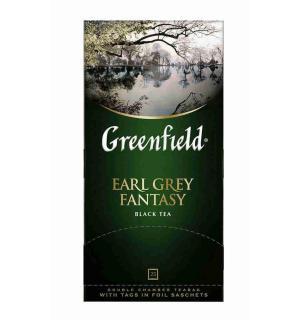 Чай черный Greenfield Earl Grey Fantasy 50г (25 пак.)