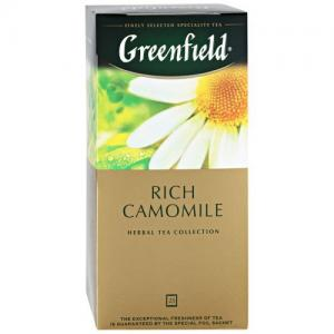 Чай Травяной Greenfield Rich Camomile 37,5г (25 пак.)
