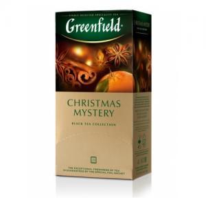 Чай черный Greenfield Christmas Mystery 37,5г (25 пак.)