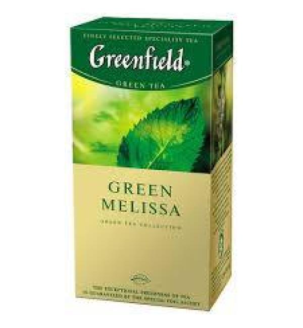 Чай зеленый Greenfield Green Melissa 37,5г (25 пак.)