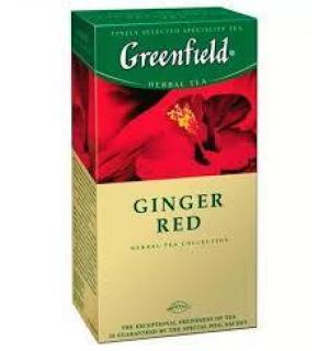 Чай Красный Greenfield Ginger Red 37,5г (25 пак.)