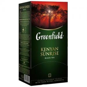 Чай черный Greenfield Kenyan Sunrise 50г (25 пак.)