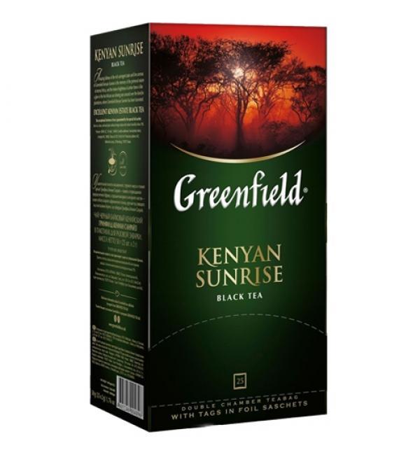 Чай черный Greenfield Kenyan Sunrise 50г (25 пак.)
