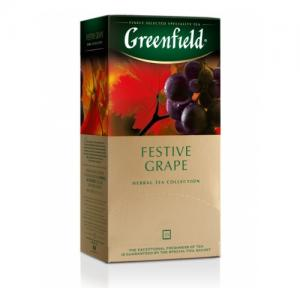 Чай Красный Greenfield Festive Grape 50г (25 пак.)