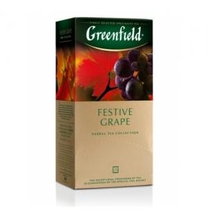 Чай Красный Greenfield Festive Grape 50г (25 пак.)