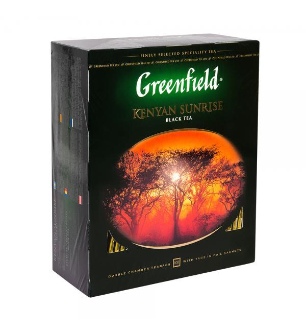 Чай черный Greenfield Kenyan Sunrise 200г (100 пак.)