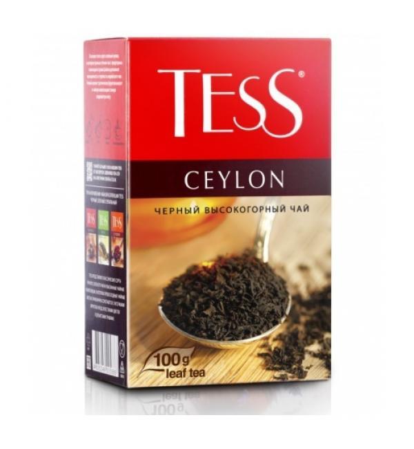 Чай черный Tess Ceylon 100г