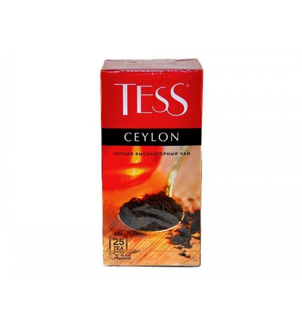 Чай черный Tess Ceylon 50г (25 пак.)