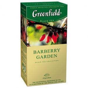 Чай черный Greenfield Barberry Garden 37,5г (25 пак.)