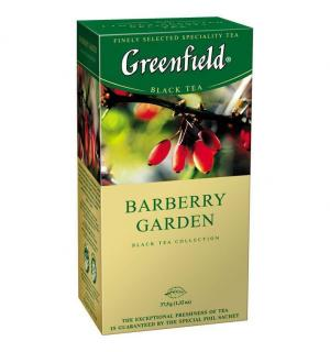 Чай черный Greenfield Barberry Garden 37,5г (25 пак.)