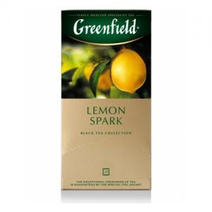 Чай черный Greenfield Lemon Spark 37,5г (25 пак.)