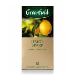 Чай черный Greenfield Lemon Spark 37,5г (25 пак.)