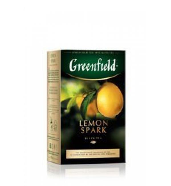 Чай черный Greenfield Lemon Spark 100г
