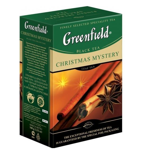 Чай черный Greenfield Christmas Mystery 100г