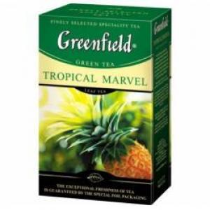 Чай зеленый Greenfield Tropical Marvel 100г (СНЯТ С ПРОИЗВОДСТВА)