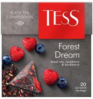 Чай черный Tess Forest Dream 36г (20 пак.)