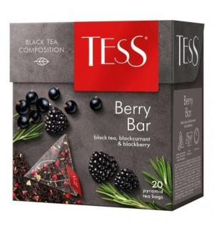 Чай черный Tess Berry Bar 36г (20 пак.)