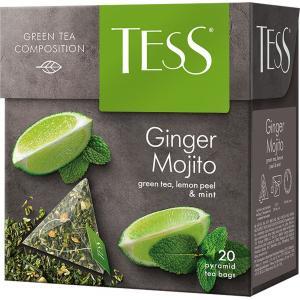 Чай зеленый Tess Ginger Mojito 36г (20 пак.)