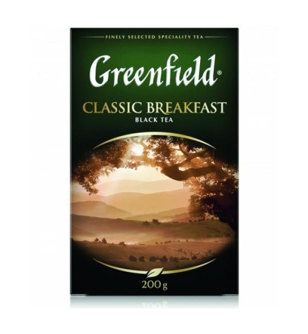 Чай черный Greenfield Classic Breakfast 200г