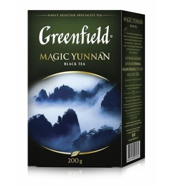 Чай черный Greenfield Magic Yunnan 200г