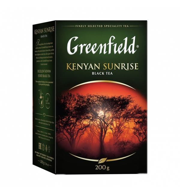 Чай черный Greenfield Kenyan Sunrise 200г