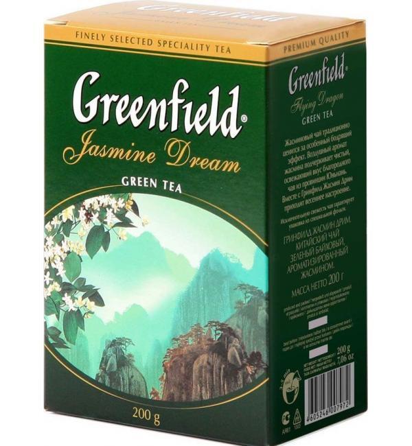 Чай зеленый Greenfield Jasmine Dream 200г