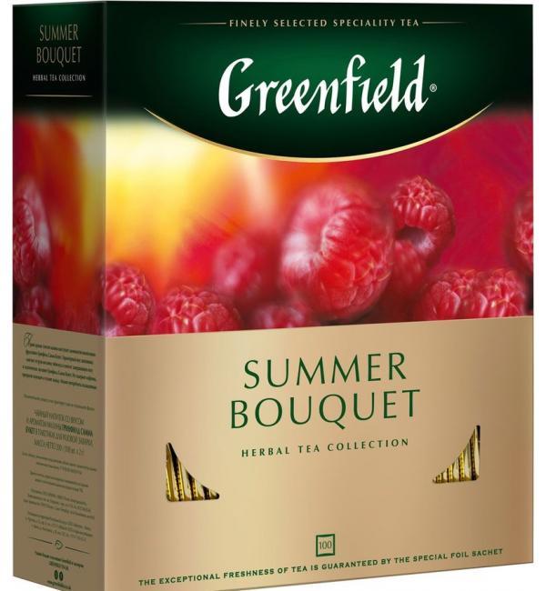Чай Красный Greenfield Summer Bouquet 200г (100 пак.)