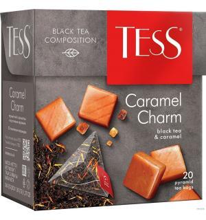 Чай черный Tess Caramel charm 36г (20 пак.)