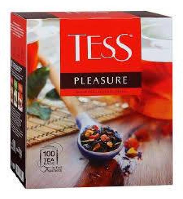 Чай черный Tess Pleasure 150г (100 пак.)