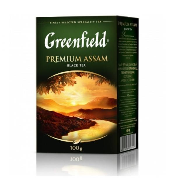 Чай черный Greenfield Premium Assam 100г