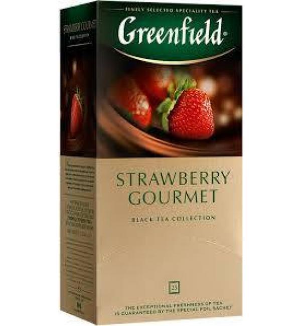 Чай черный Greenfield Strawberry Gourmet 37,5 г (25 пак.)
