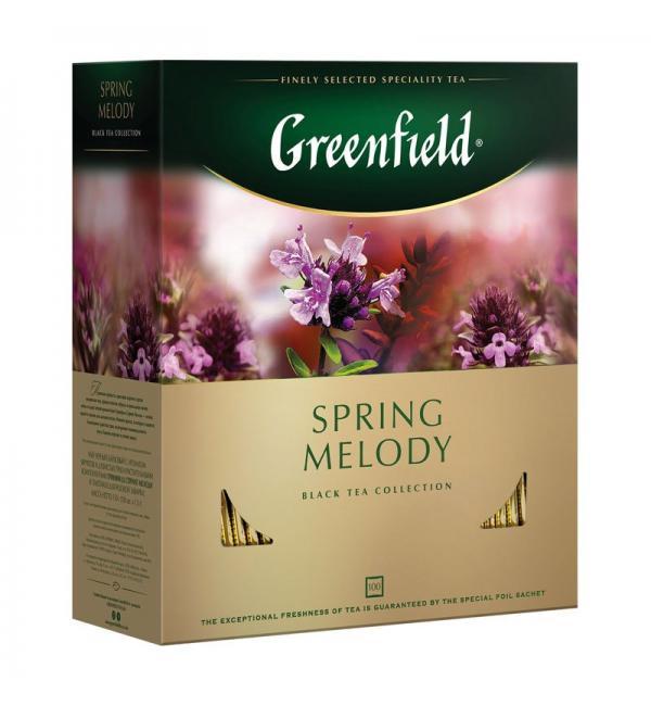 Чай черный Greenfield Spring Melody 150г (100 пак.)
