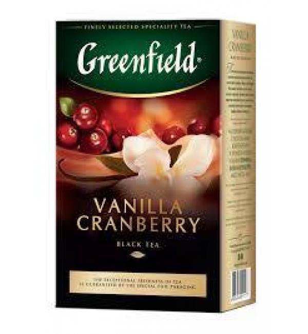 Чай черный Greenfield Vanilla Cranberry 100г