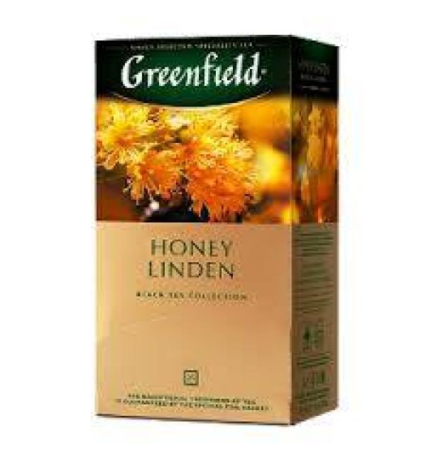 Чай черный Greenfield Honey Linden 37,5г (25 пак.)