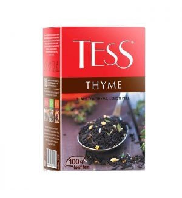 Чай черный Tess Thyme 100г