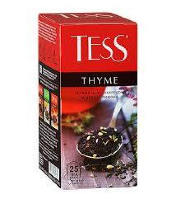 Чай черный Tess Thyme 37,5г (25 пак.)
