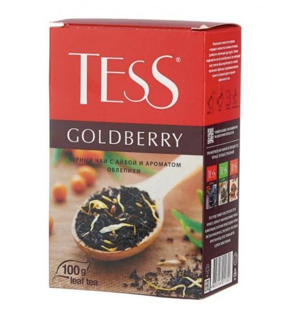Чай черный Tess Goldberry 100г