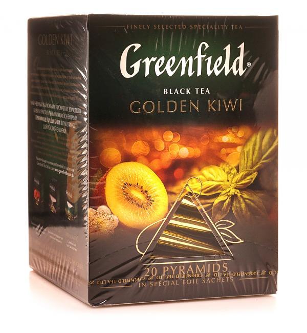 Чай черный Greenfield Golden Kiwi 36г (20пак.)