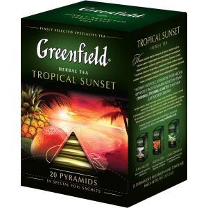 Чай красный Greenfield Tropical Sunset 36г (20пак.)