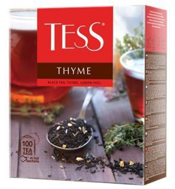 Чай черный Tess Thyme 150г (100 пак.)