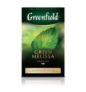 Чай зеленый Greenfield Green Melissa 100г